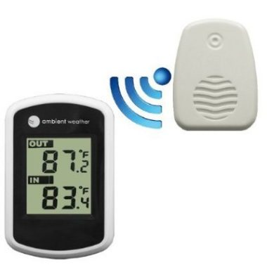 Ambient Weather WS – 04 Wireless Indoor Outdoor Thermometer