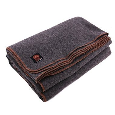 Arcturus 80% Heavy Military Wool Camping Blanket
