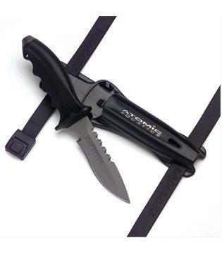 Ti6 Titanium Knife By Atomic Aquatics