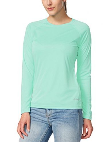 Women's Sun Protection Long Sleeve Outdoor Performance T-Shirt by Baleaf