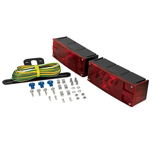 Blazer C6285 Rectangular Low Profile Submersible Trailer Lights