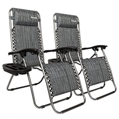 Bonnlo Infinity Zero Gravity Boat Deck Chairs
