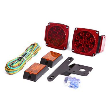 CZC AUTO 12V LED Submersible Trailer Lights