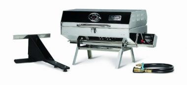 Camco 57305 Olympian Stainless Steel Portable Gas Boat Grill