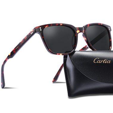 Carfia Chic Retro Polarized Sunglasses