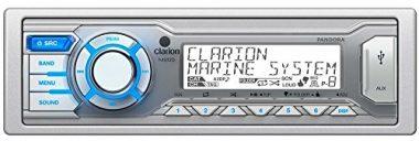 Clarion M205 Single DIN In-Dash Digital Media Marine Receiver