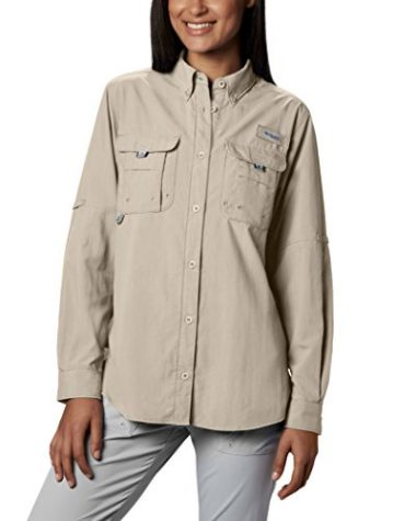Women's PFG Bahama II Long Sleeve Breathable Fishing Shirt by Columbia