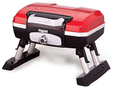 Cuisinart CGG-180T Petit Gourmet Portable Tabletop Gas Boat Grill
