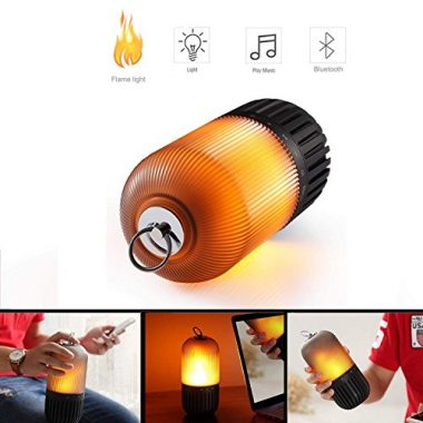Bluetooth Portable Flame Speaker & Table Lamp By DIKAOU