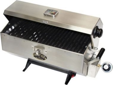 Dickinson Large Sea-B-Que Stainless Steel Marine Boat Grill