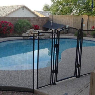 EZ-Guard 4′ x 12′ Child Safety Pool Fence