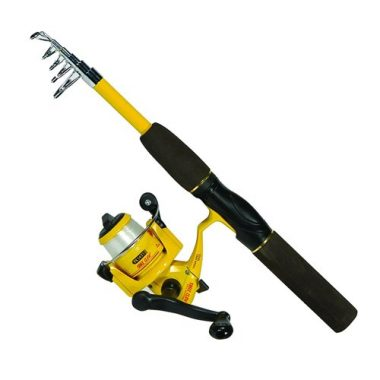 PK56TS Pack-It Spin Combo Telescopic Rod By Eagle Claw