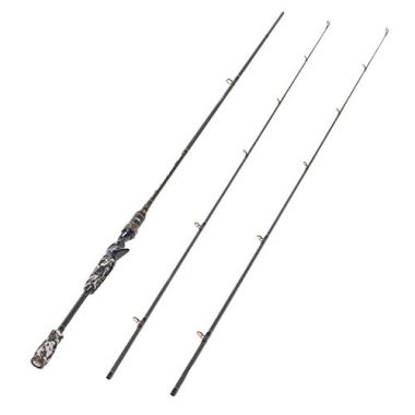 Entsport Camo Legend 2-Piece 7-Feet Baitcasting Rod