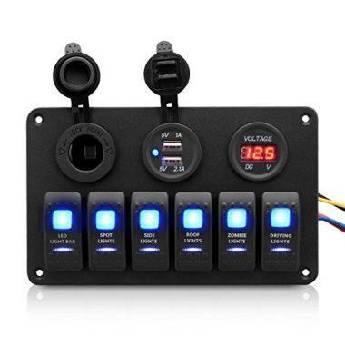 Excelvan Digital Boat Switch Panel