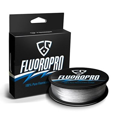 FISHINGSIR FluoroPro Coated Fluorocarbon Fishing Line