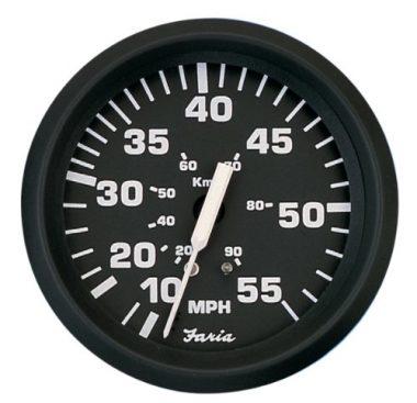 Faria 32810 Euro 55 MPH Speedometer