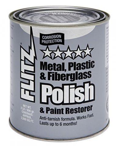 Flitz Blue Metal, Plastic and Fiberglass Polish Paste