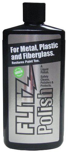 Flitz Green Metal, Plastic and Fiberglass Polish Liquid