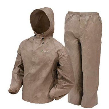 Frogg Toggs Men's Waterproof Ultra-Lite2 Suit Rain Gear For Fishing