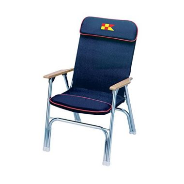 Garelick EEz-In Designer Series Padded Boat Deck Chair