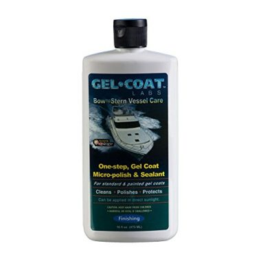 Gel Coat Labs One-Step Gel Coat Micro-Polish & Sealant Boat Polish