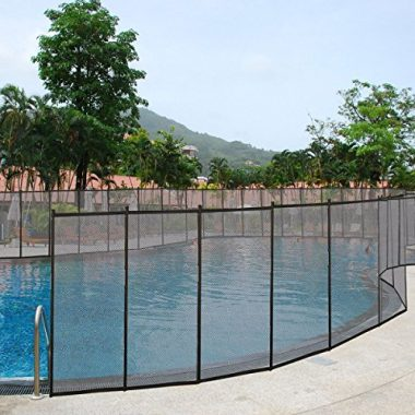 Giantex 4″X12″ In-Ground Swimming Pool Fence