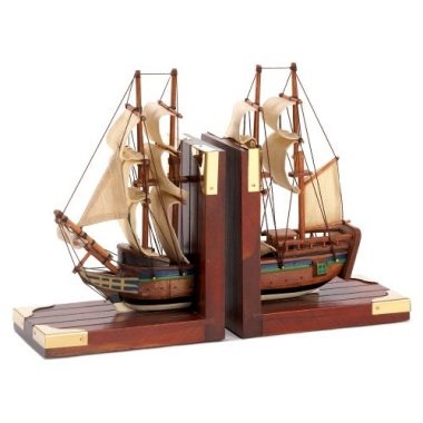 Sailing Schooner Nautical Theme Book End By Gifts & Decor