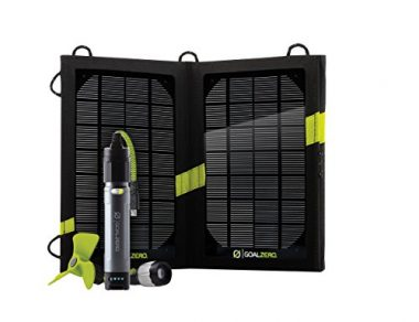 Switch 10 Recharger with Nomad 7 Solar Panel By Goal Zero