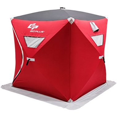 Portable Ice Shelter By Goplus