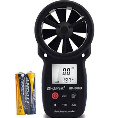 866B Digital Anemometer By Holdpeak
