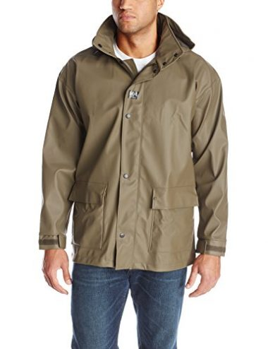 Helly Hansen Workwear Men's Impertech Deluxe Rain and Fishing Jacket