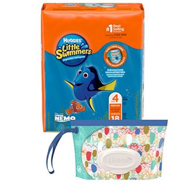 Little Swimmers Disposable Swim Diapers by Huggies