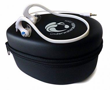 Short-Cord Waterproof Headphones By Underwater Audio