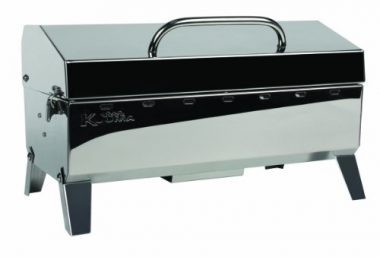 Premium Stainless Steel Mountable Charcoal Grill By Kuuma