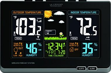 La Crosse Technology 308 – 141B Indoor Outdoor Thermometer