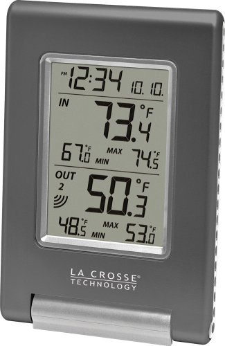 La Crosse Technology WS – 9080 Indoor Outdoor Thermometer