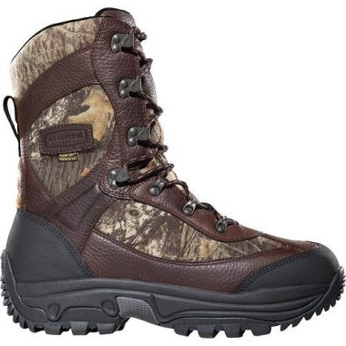"""Lacrosse Hunt Pac Extreme 10"""" Leather Ice Fishing Boot"""