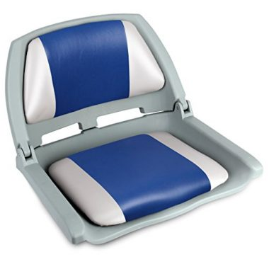 Leader Accessories New Plastic Shell Folding Boat Deck Chair