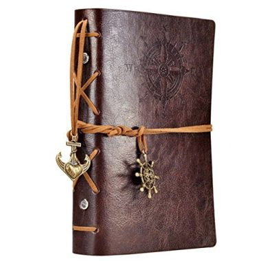 Leather Writing Journal Notebook By EvZ