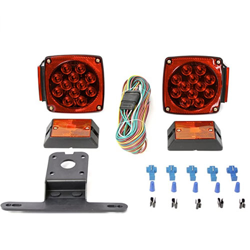 MaxxHaul 70205 12V LED Submersible Trailer Lights