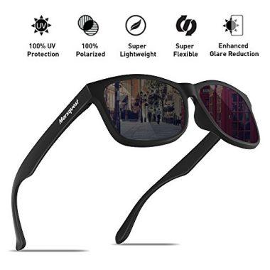 MARSQUEST Men's Polarized Sunglasses