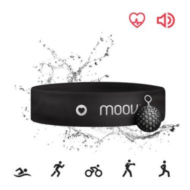 Bluetooth Headband Swim Tracker By Moov
