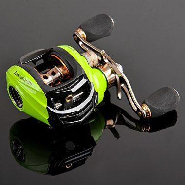 NOEBY Low Profile Fishing Baitcasting Reel
