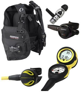 Oceanic Price Buster Scuba Gear Package