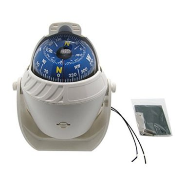 Electronic LED Light Marine Digital Compass By Odowalker
