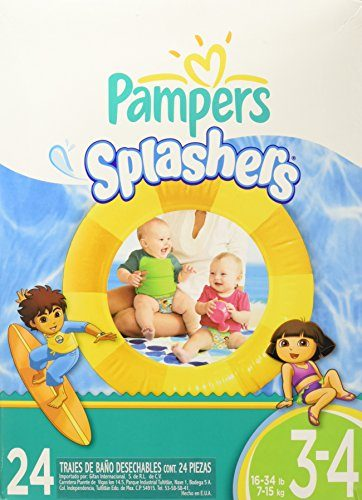 Splashers Disposable Swim Diapers by Pampers