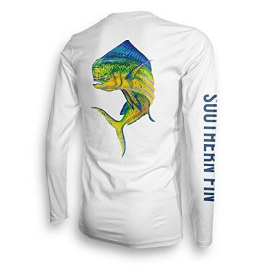 Southern Fin Apparel Unisex Long Sleeve Performance Fishing Shirt