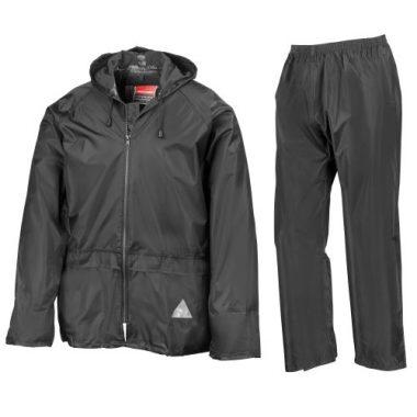 Result Mens Heavyweight Waterproof Rain Suit