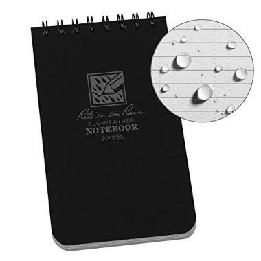 Weatherproof Top-Spiral Notebook By Rite In The Rain