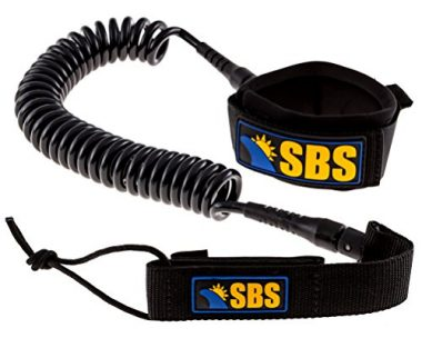 SBS 10′ Coiled SUP Paddle Board Leash
